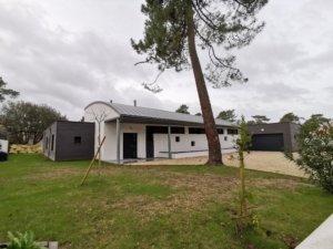 toit en zinc maison neuve