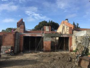 Rénovation d'une maison d'habitation en pierre