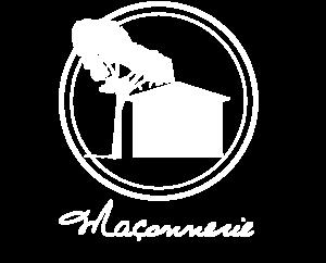 Logo maçonnerie blanc