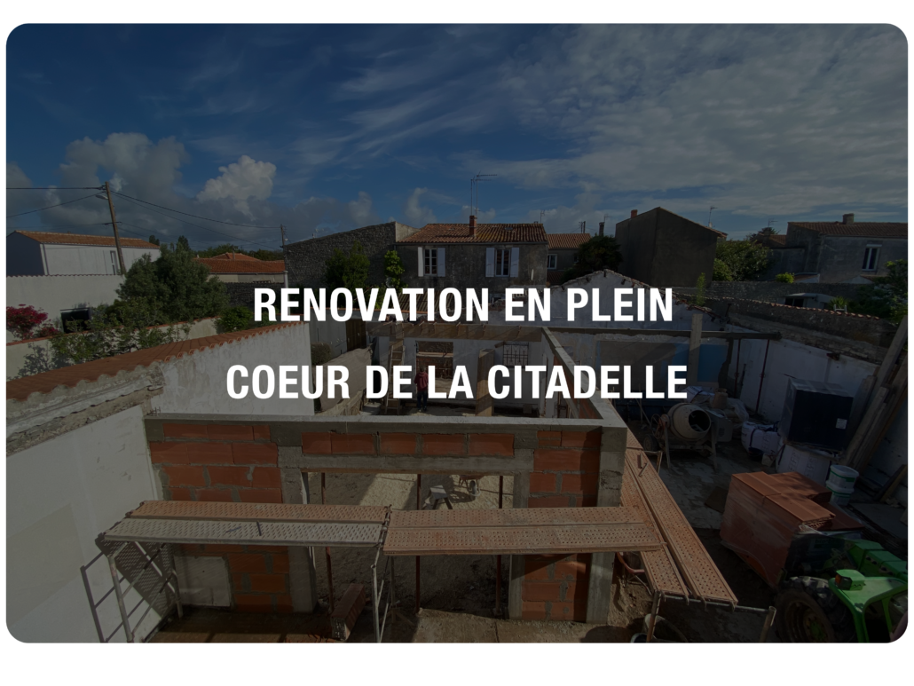 Présentation article Rénovation citadelle