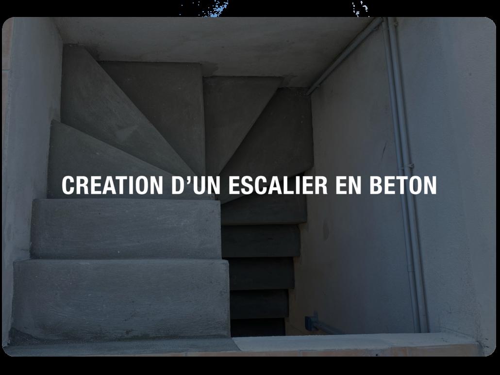 article escalier béton